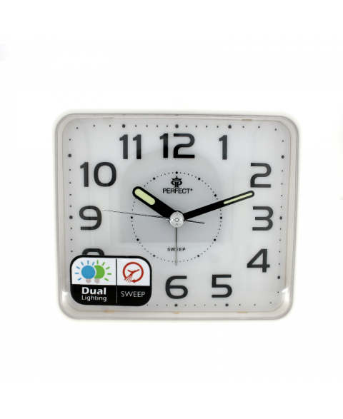 PERFECT SQ882SP/WH Wall clock