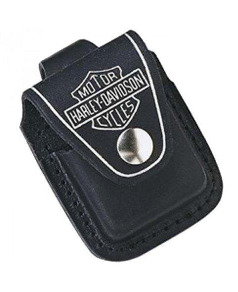 Zippo odinis dėklas (juodas) HDPBK Harley Davidson