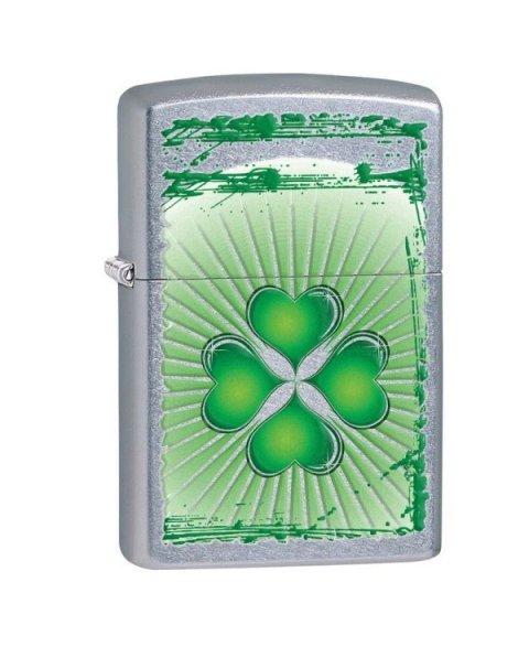 Lighter ZIPPO 28659  Clover Grunge Street Chrome