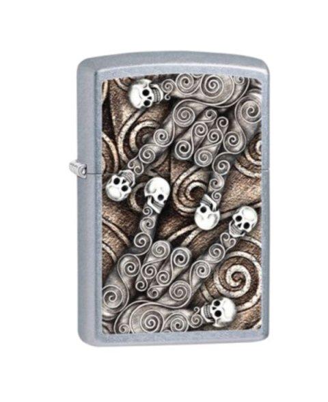 Lighter ZIPPO 28869 Skull Scroll Hand