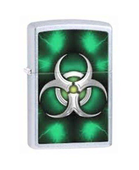 Lighter ZIPPO 28853 Biohazard Green