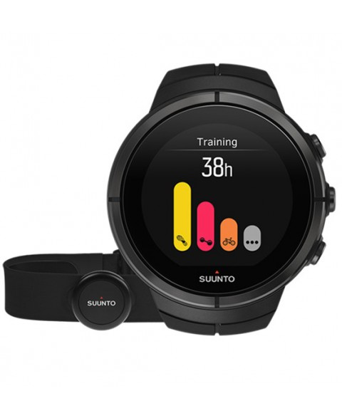 SUUNTO Spartan Ultra All Black Titanium Chest Hr