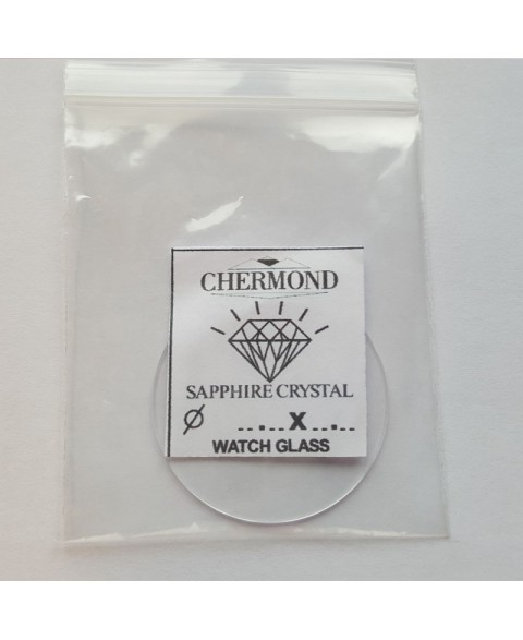 33.5X1,5mm Mineral. Glass for watches