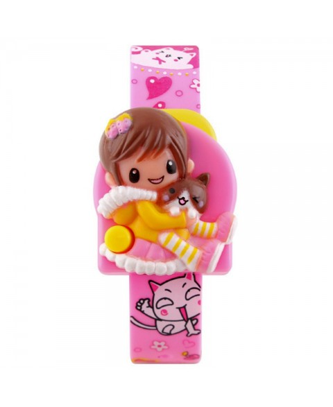 SKMEI DG1240 Pink Children's Watches