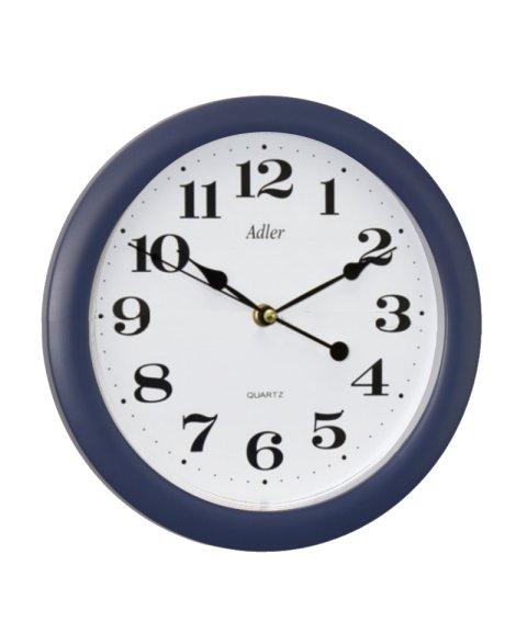 ADLER 30021 BLUE Quartz Wall Clock