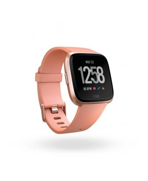 Fitbit Versa (NFC) - Peach / Rose Gold Aluminum, EU