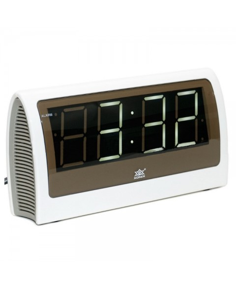 Electric Alarm Clock 1818/WHITE