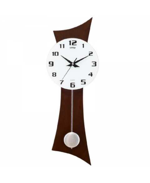 CNTOP P27004XLW WALNUT. Quartz Wall Clock