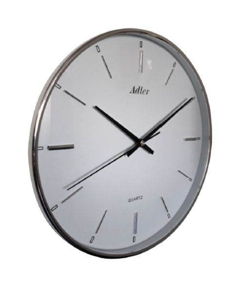 ADLER 30157SIL  Quartz Wall Clock