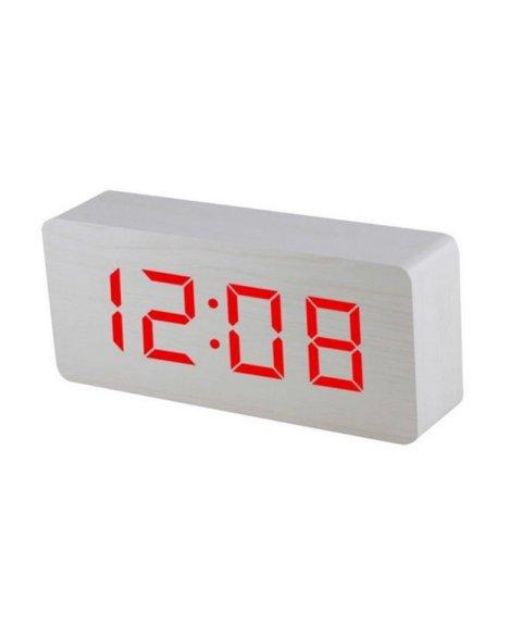 Electric LED Alarm Clock XONIX GHY-015YK/WH/RED