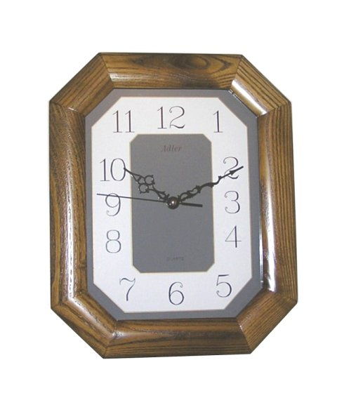 ADLER OAK  21046O Quartz Wall Clock